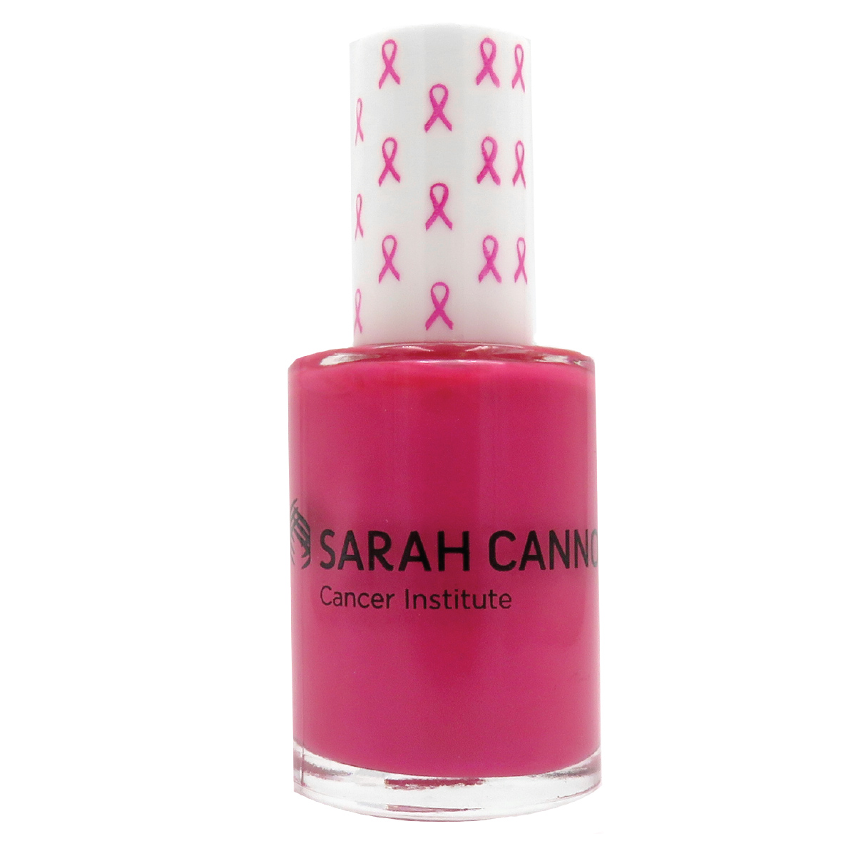 PL – 112, Full Size Round Nail Polish with Pink Ribbon Cap